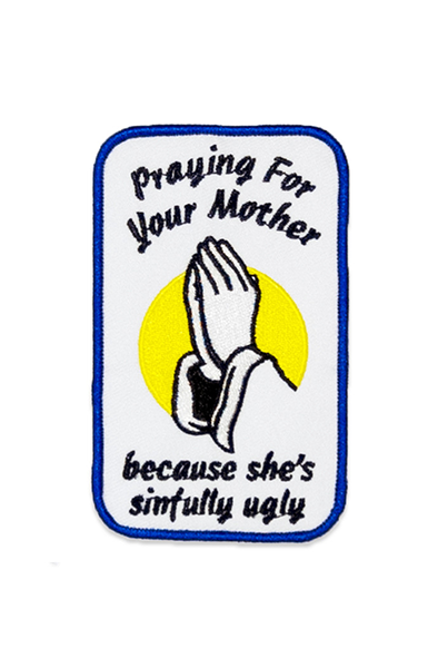 NO FUN 'Prayer' Patch