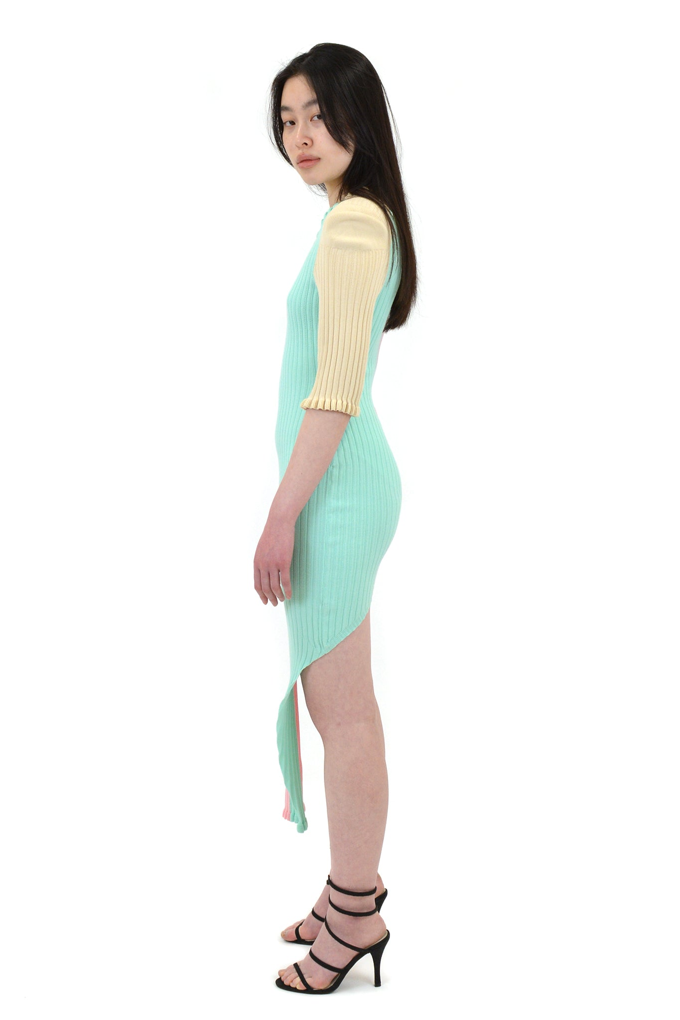 Neith Nyer Bicolour Knit Dress