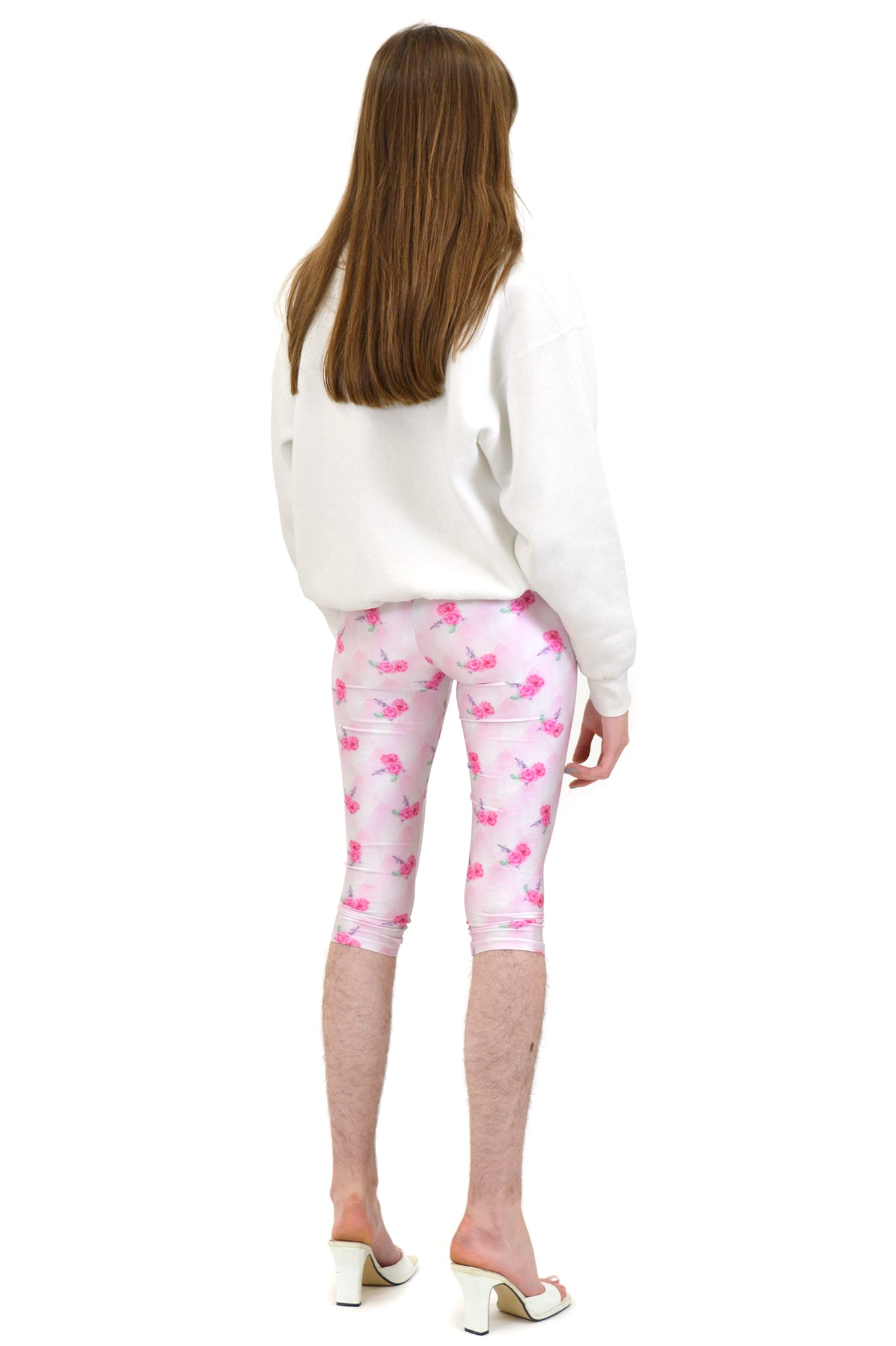 Neith Nyer Short Leggings, Rosewrap Print