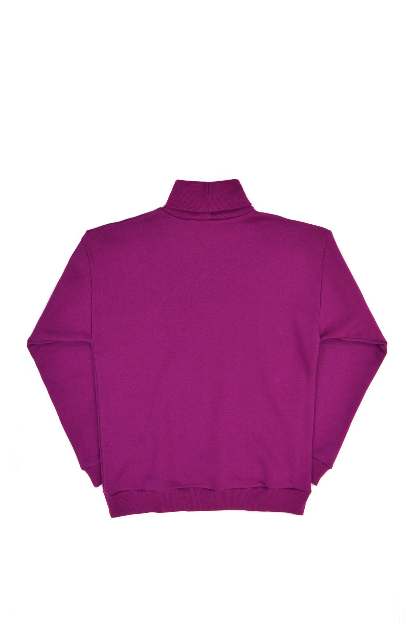 SOOP SOOP Turtleneck Sweatshirt, Berry