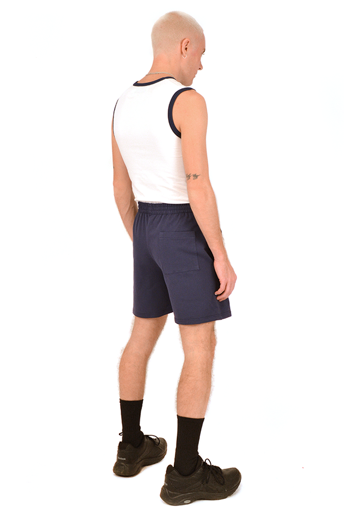 SOOP SOOP Basic Shorts, Navy