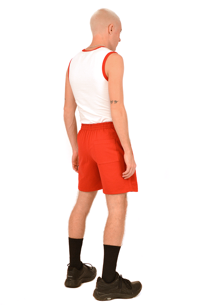SOOP SOOP Basic Shorts, Red