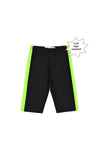 SOOP SOOP Bicycle Shorts, Green Stripe
