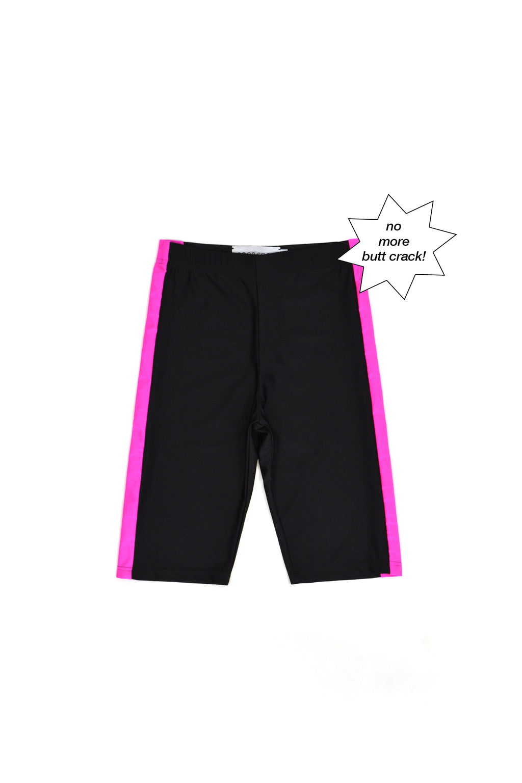 SOOP SOOP Bicycle Shorts, Pink Stripe