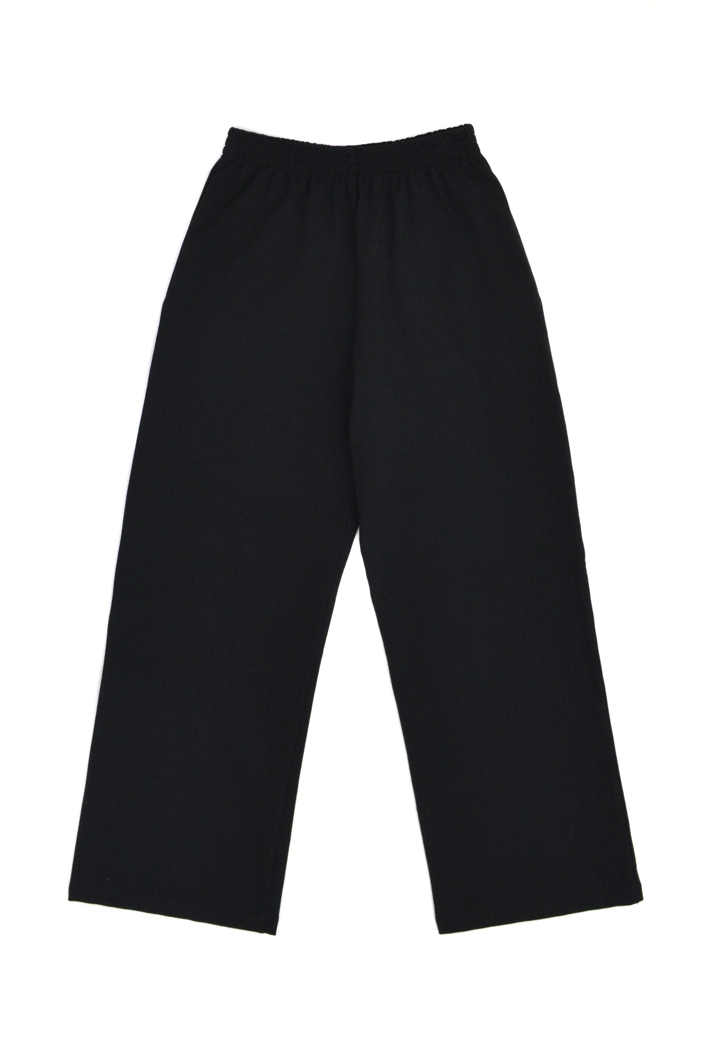 SOOP SOOP Cropped Trouser Sweats, Black