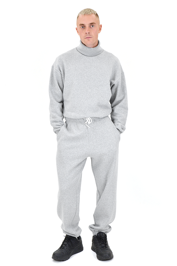 SOOP SOOP Turtleneck Sweatshirt, Grey