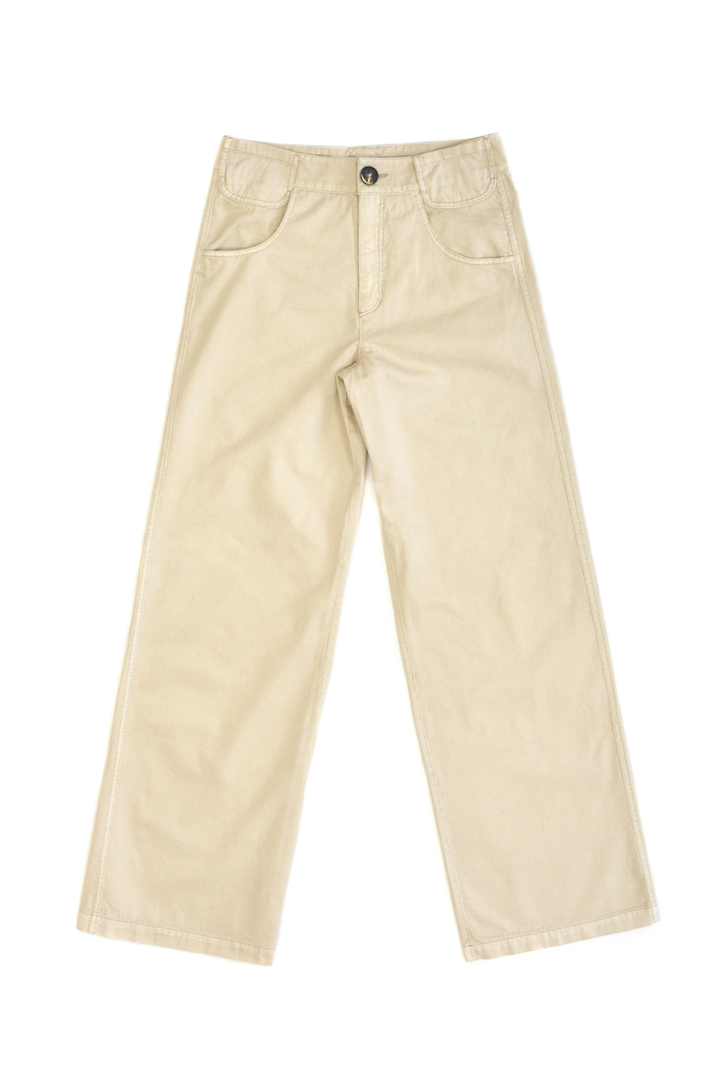 Telfar 6-Pocket Unisex Trouser, Bone
