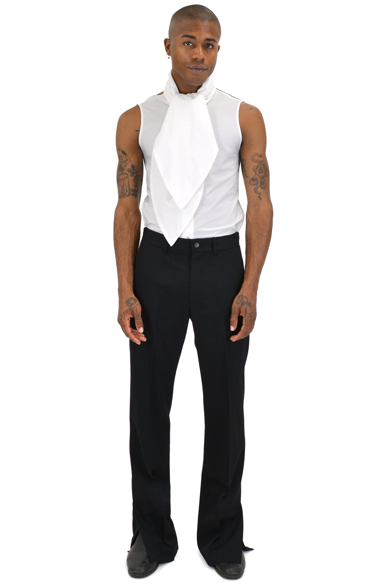 Telfar High-Collar Halter Top