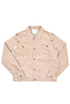 Telfar Detachable Corduroy Jacket, Beige