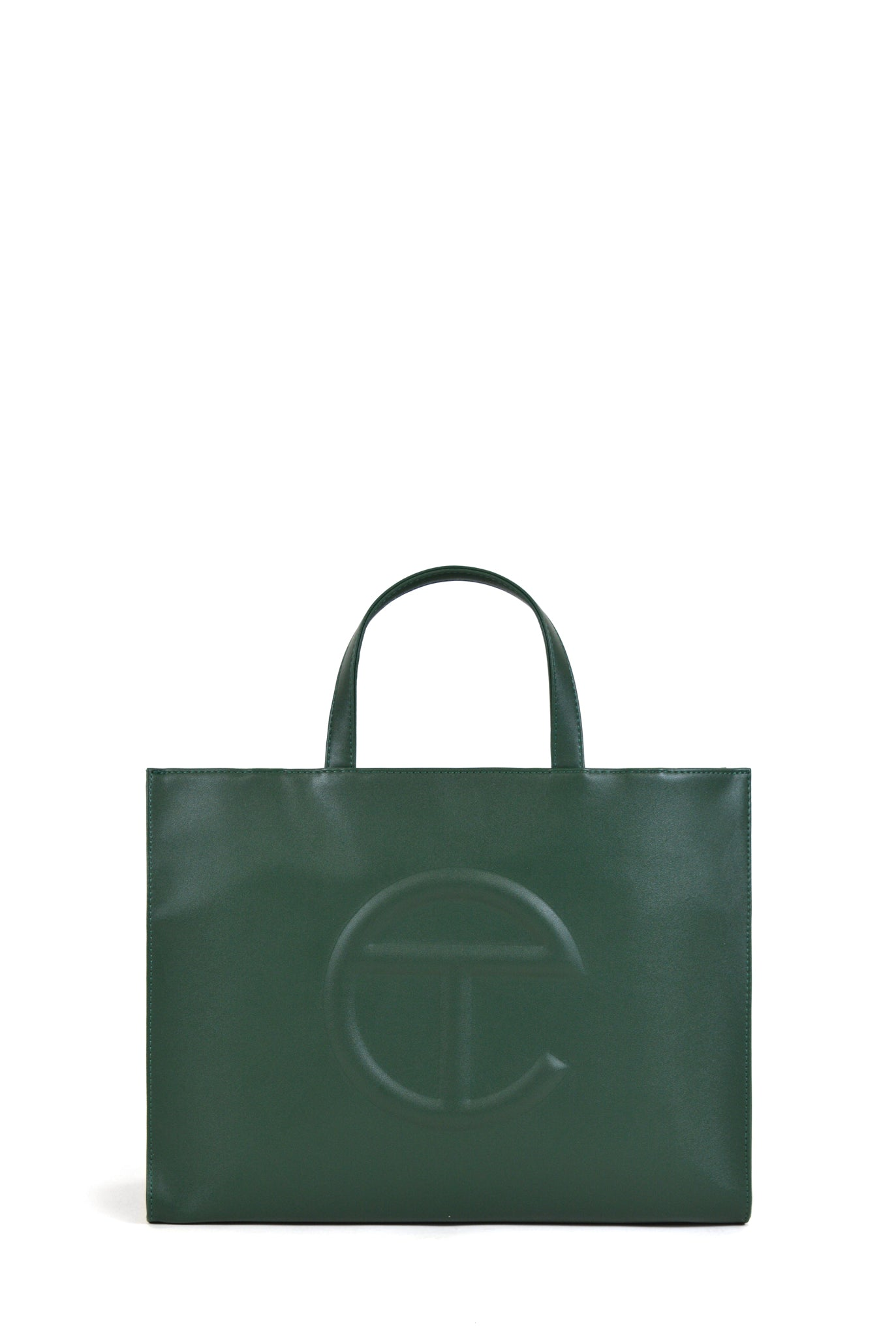 Telfar Medium Shopping Bag, Dark Olive