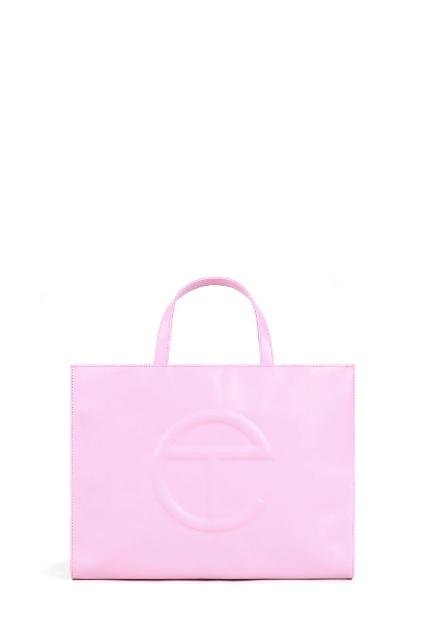 Telfar Medium Shopping Bag, Bubblegum Pink