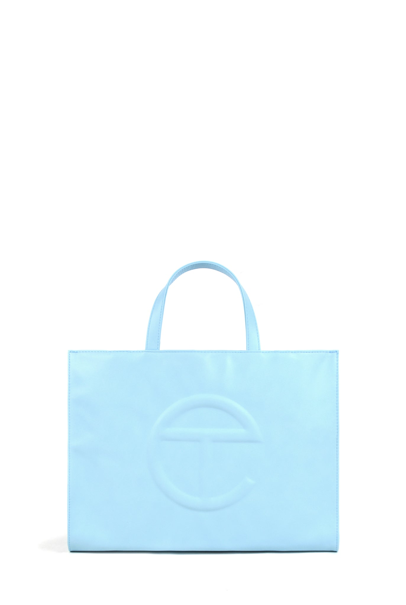 Telfar Medium Shopping Bag, Pool Blue
