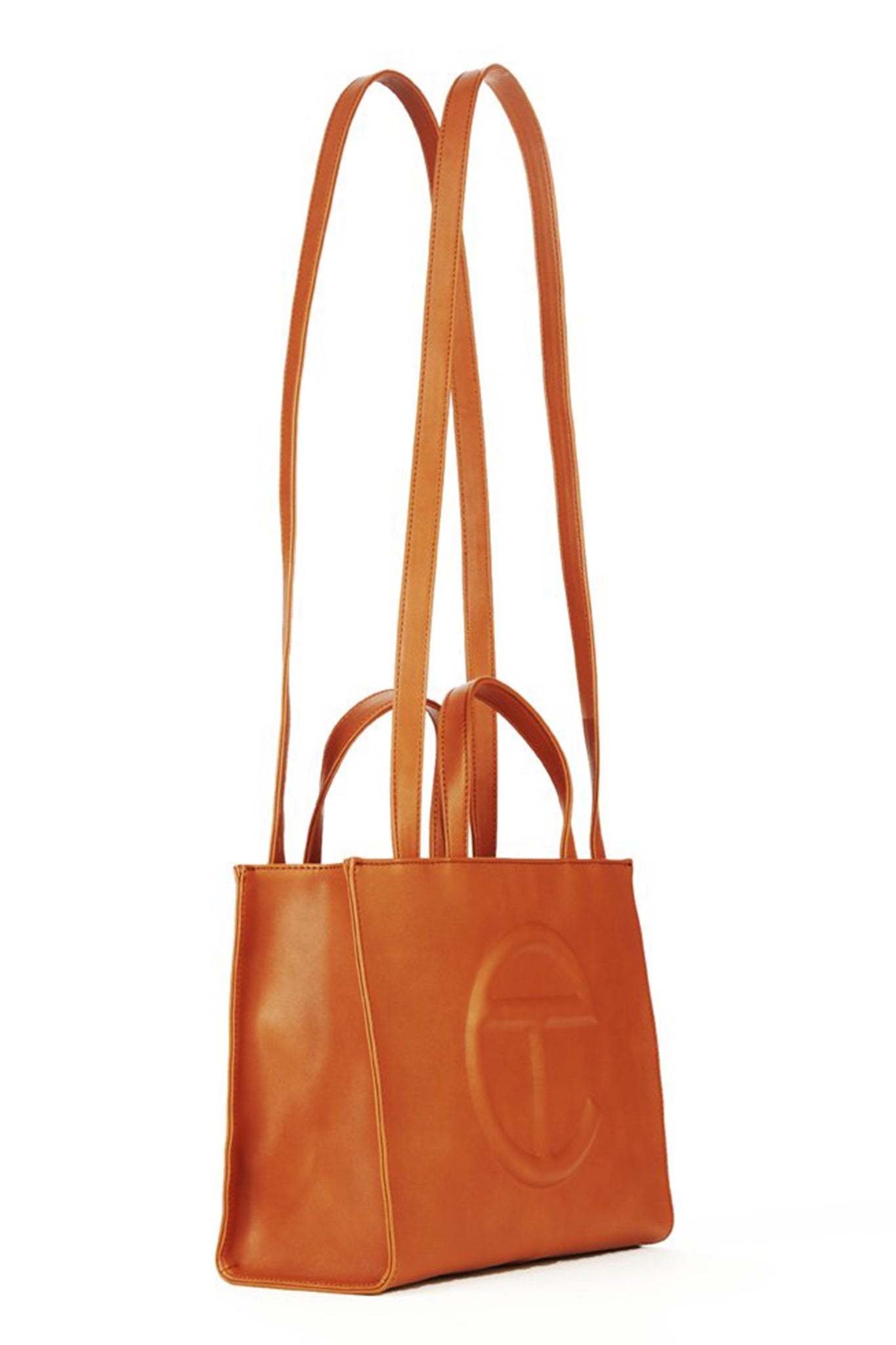 Telfar Medium Shopping Bag, Tan