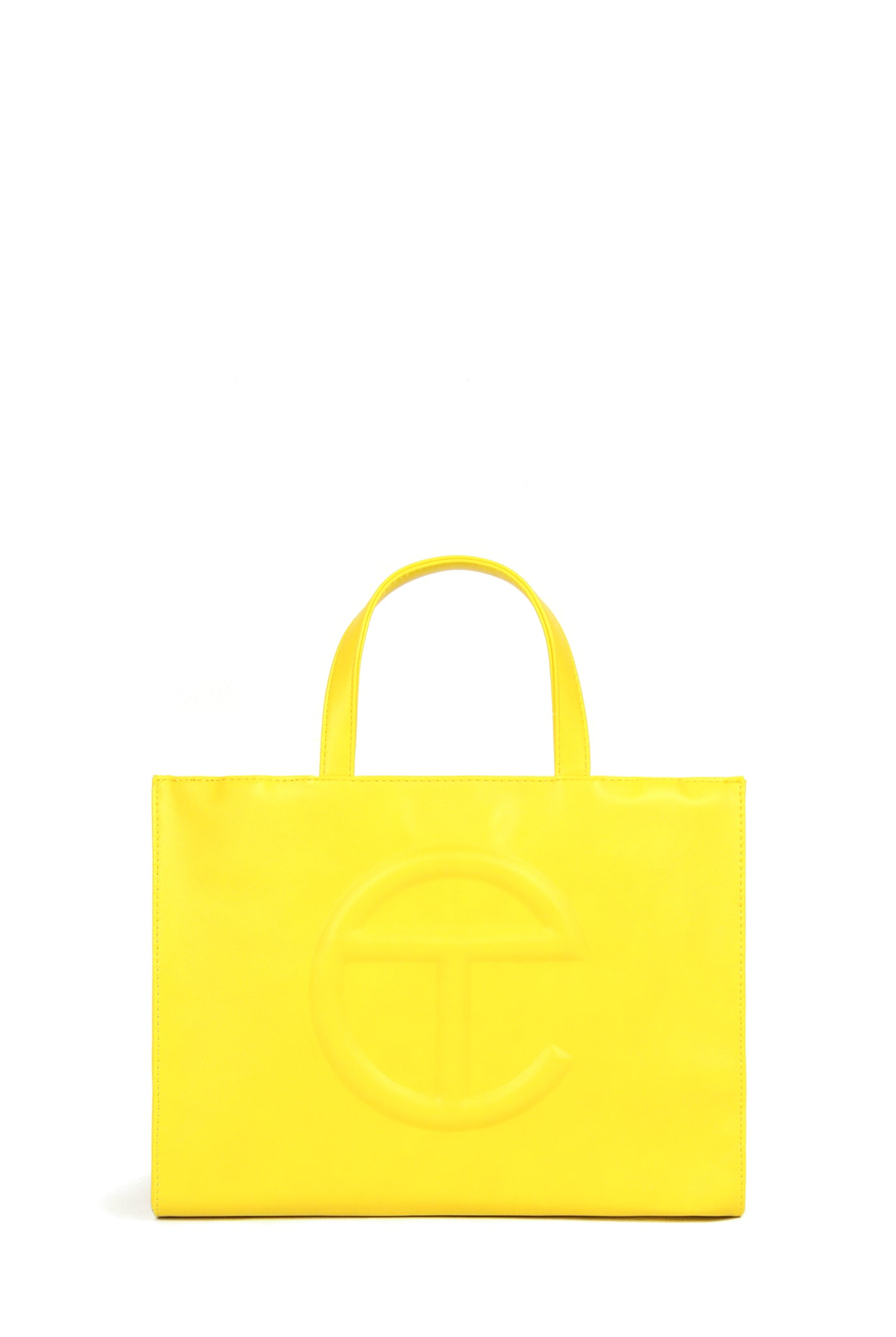 Telfar Medium Shopping Bag, Yellow