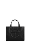 Telfar Medium Shopping Bag, Black