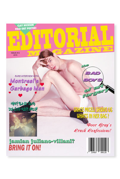 The Editorial Magazine, Issue 14 - Limited Edition Cover