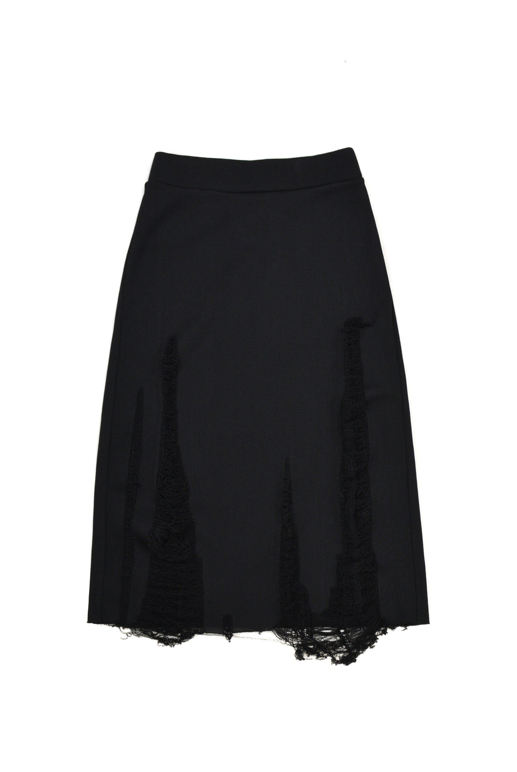Vaquera Ripped Skirt