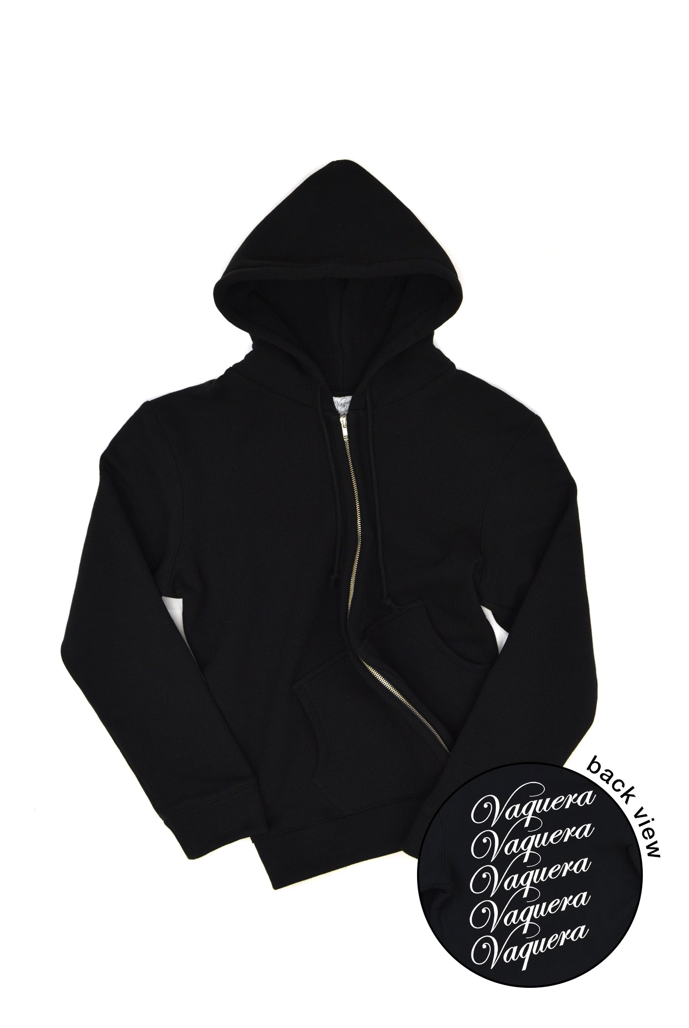 Vaquera Twisted Logo Hoodie