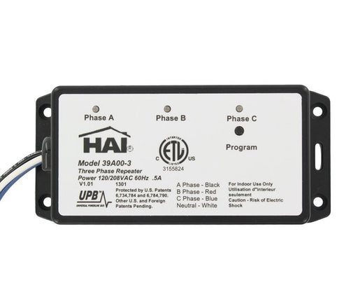 HAI-TPR-120: Three Phase Repeater - Wire-in 120/208 V  60Hz