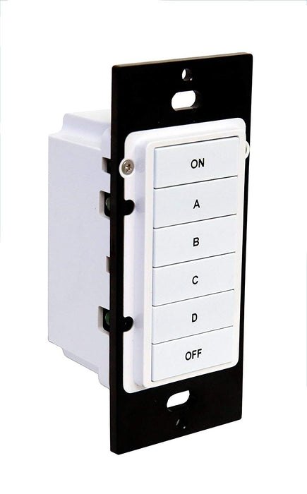 HAI - HLCK6: Keypad Controller, Wall Mount, 6-Button
