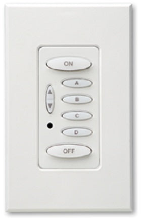 (Refurbished) PulseWorx KPLD-6: Keypad Controller, Load Dimmer, 400W Max,  6 Button