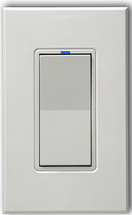 PulseWorx WS1C: Wall Switch-Relay/Dimmer (0-10V)