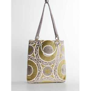 Medallion Seagrass Large Tote