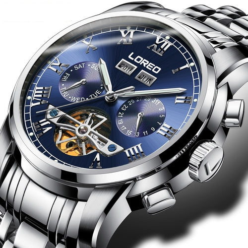 Men's High-end Automatic Mechanical Watch / Luminous Tourbillon Watch