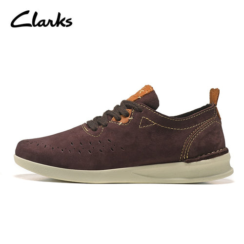 Famous Brand -  Clarks Autumn Genuine Leather Casual Shoes