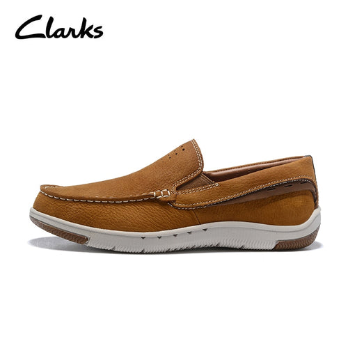 Fashion Brand  Clarks Trigenic Flex Men Leather Casual Shoes