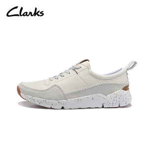 Famous Brand  - Clarks Loafers Men Leather Casual Shoes