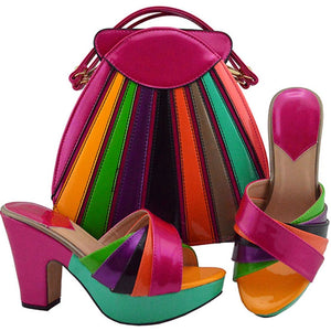 Italian Shoes with Matching Bags