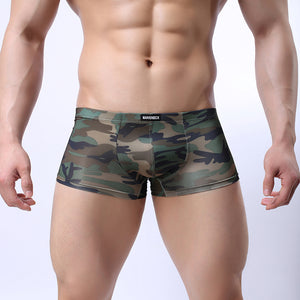 Men's Underwear Camo Men Boxer Trunks