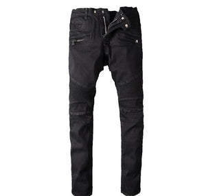 European Fashion New BALMAIN Rock Renaissance Jeans - More Colors