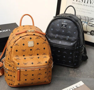 Genuine Leather High Quality Backpack- 2 sizes