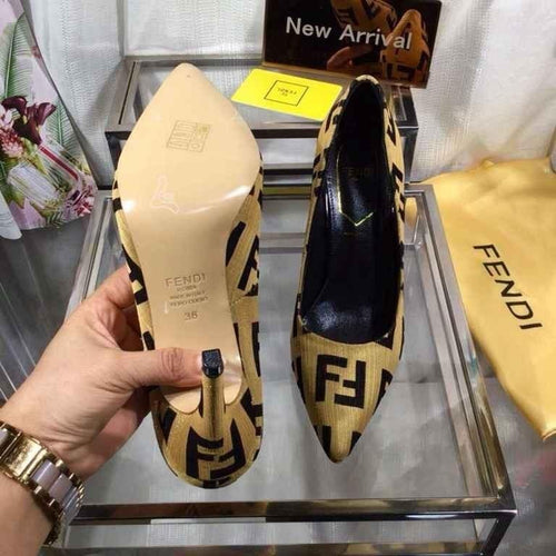 New Fashion High Heels dress shoes Genuine Leather