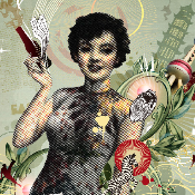 """SHANGHAI LADY"" by LEFT, limited edition of 100"