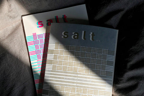 """Salt"" Vol. 6 – Handwoven Textiles"