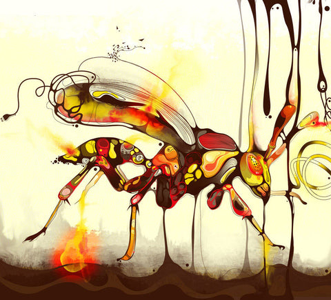 """WASP"" by Shadow Chen, limited edition of 100"