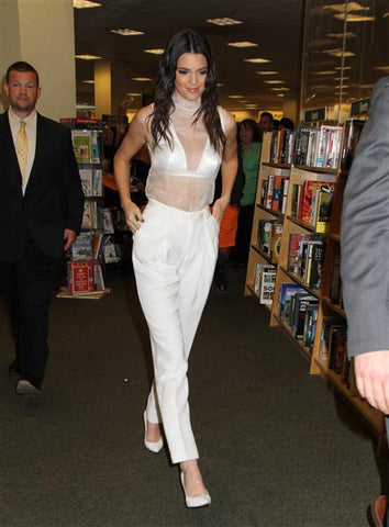 Kendall Jenner at book signing