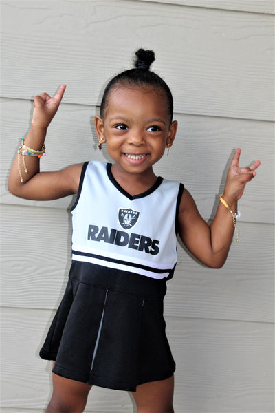 Raiders Gang Cheer Dress
