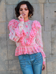 'Valley Victorian' Blouse