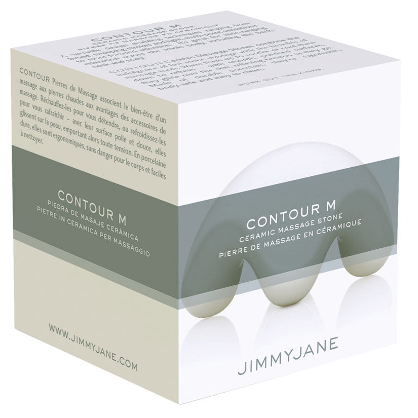 Jimmyjane Contour M Ceramic Massage Stone