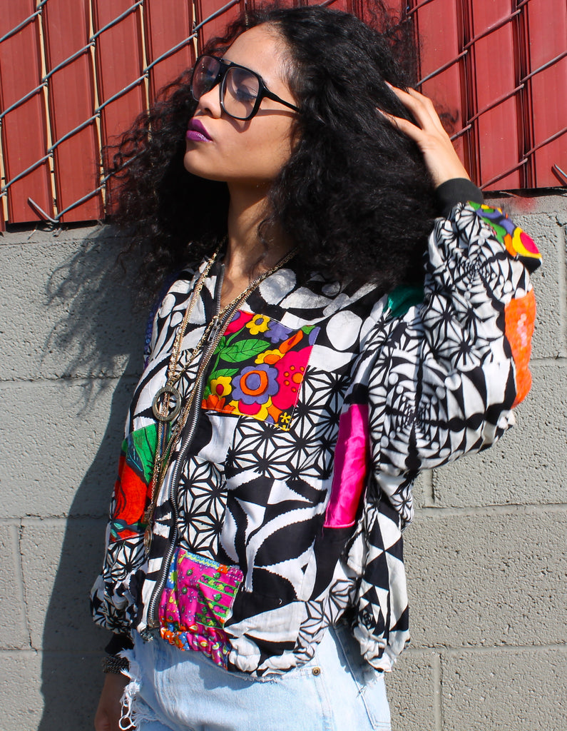 'Funky Patchwork' Jacket