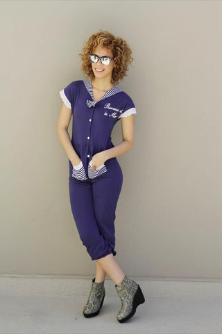 'Sailor Girl' Jump Suit