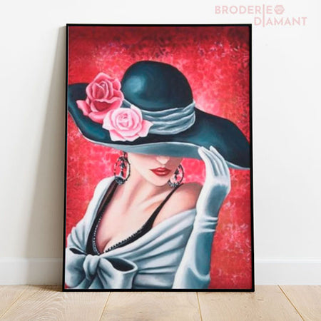 diamond painting femme séductrice
