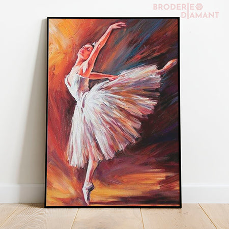 diamond painting danseuse pointe