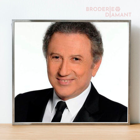 kit broderie diamant michel drucker