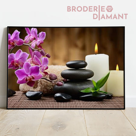 Broderie diamant Détente Absolue