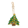 decoration noel broderie diamant sapin